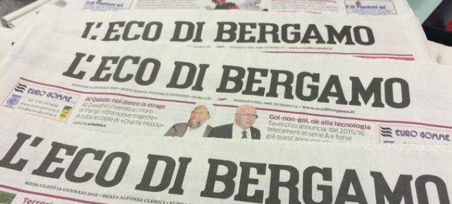 Avviso per i soci : sconti per abbonamenti Eco di Bergamo