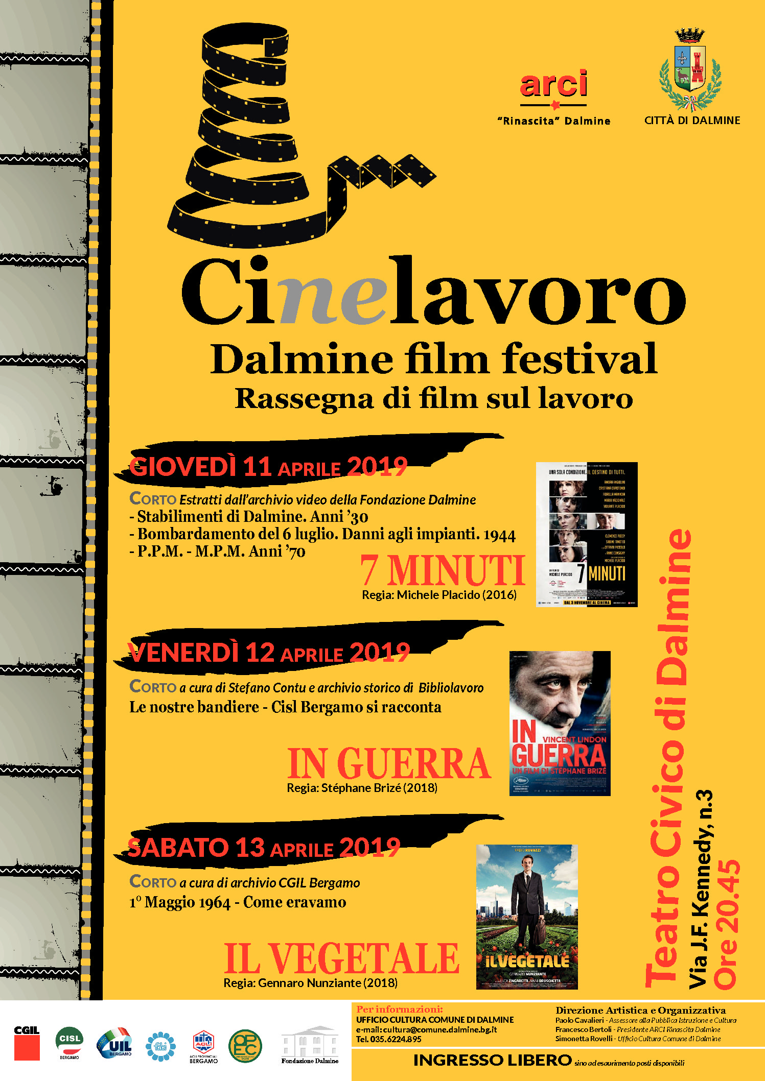 CIne LAVORO: Rassegna Cinematografica