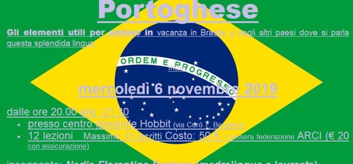 Corso di portoghese al circolo Arci Uisp Genuizzi
